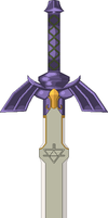 Master Sword Coloured by turpinator77