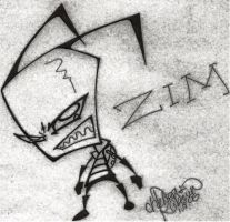another ZIM sketch by robo-sapien