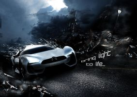 Citroen GT concept by Dr-Flink