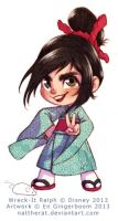::COMMISSION:: Region Exclusive Vanellope by nattherat