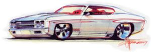 Mother's 1970 Chevelle by taz2