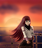 [BSB OC] Sunset by LadyToothless