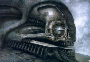 H. R. Giger XXXVII by CamillOnline