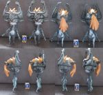 Midna papercraft duplicates by minidelirium