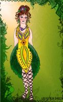 Toxic Flower Dress by Pearllight180