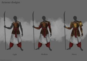 Armour designs by RobbieMcSweeney