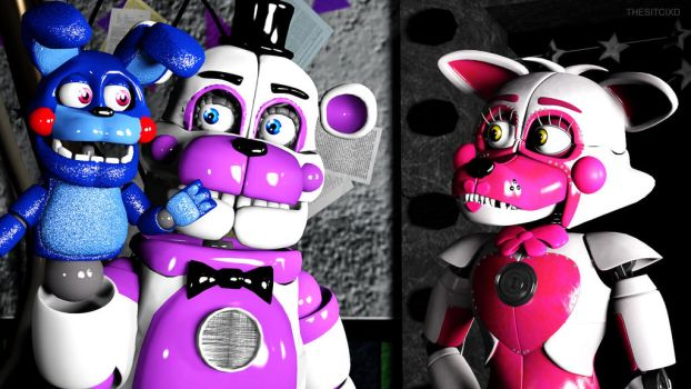 FunTime (SFM FNAF) by TheSitciXD