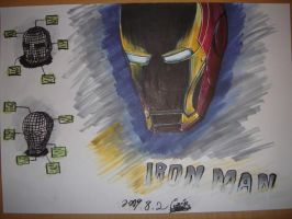 IRON MAN by A-WI