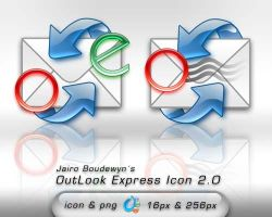 OutLook Express Icon 2 by weboso