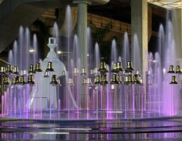 Bells in a Fountain by David-Will