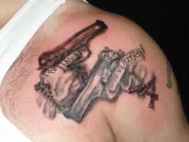 Boondock Saints tattoo by MeghanBeth