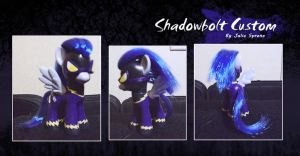 My Little Pony Shadowbolt Custom by kaizerin