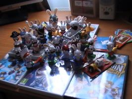 My rabbids collection 2010 by danwolf15