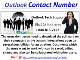 Outlook Support   1-844-815-2122 by angelialesnar