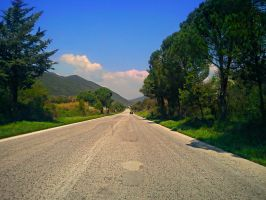 Driving downhill by hellenicwarrior