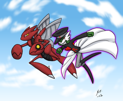 KazeKira Commission Rocket Pokemon by The-Clockwork-Crow