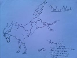 Renegade-Pinto or Paint by obsidianhart