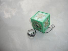 Vongola Thunder Ring and Box by hk-1440