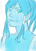 Korra sketch by AleKaiLin