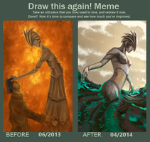 Meme  Before And After: A dream by R-Aters
