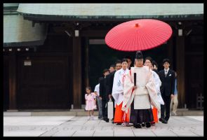 Umbrella Procession by billsabub