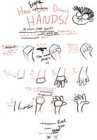 How Frank Draws Hands by FrancR