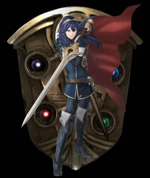 Lucina - Fire Emblem Warriors by SondowverDarKRose