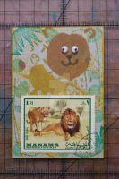 Lion ATC by lonesomeaesthetic