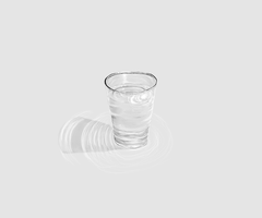 A simple glas of water by LuxCordis