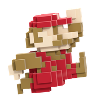 8-bit Mario Smash Style 1/8 by Nibroc-Rock