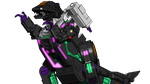 Trypticon cutout by kaxblastard