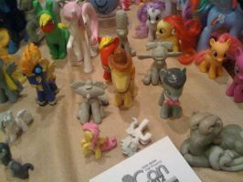 MLPFIM custom group + Hey Arnold ponies by davisaroflmao