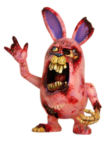 Peter Rottentail Zombunny by TKMillerSculpt