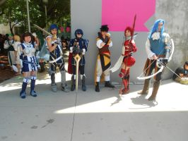 Fire Emblem Awakening Group Cosplay by Hikari-no-Kurai