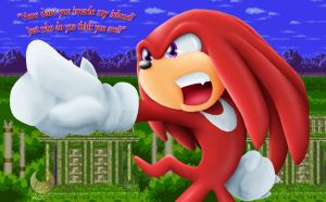 Knuckles .:Comic Sneak Peek:. by Coraleana