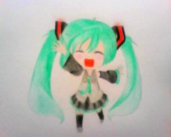 Miku (Request) by AniMaymay