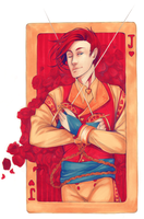 Knave of Hearts by meggiefox