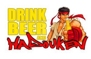 Hydouken Beer by Visionary101
