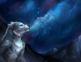 Breathe out the Stars by rajewel