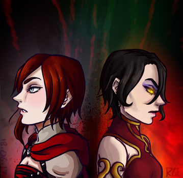 Looming Conflict [RWBY] by Kalloway