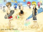 Sora and the Beach by Sora-to-Kuraudo