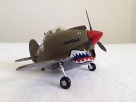 Egg Plane Curtiss P40 Warhawk by Jetster1