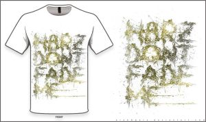 H8RZ DONT FADE ME (v3) T-Shirt Design by alekSparx