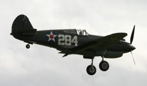 p40b curtiss warhawk duxford a by Sceptre63