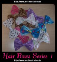 Hair Bows Series 1 by morbid-stitches