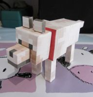 Wolf Tamed Papercraft by Byakko92