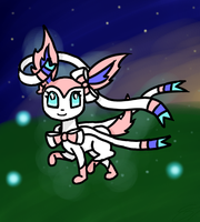 Sylveon by Silver-Charge