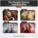 The Hunger Games: Catching Fire (Folder Icon) by limav