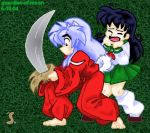 Inuyasha, my first C.G. by guardian-of-moon