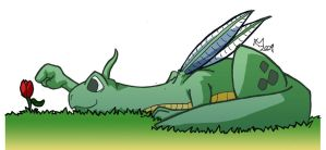 Dragons: Eco Dragon by Kmadden2004